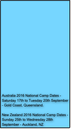 Cdcr academy dates in Australia